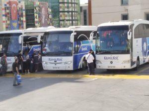 Pengalaman naik Bus Kamil Koc ke Ankara dari Istanbul