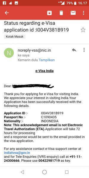Cara Membuat E-Visa India tanpa dikenakan biaya