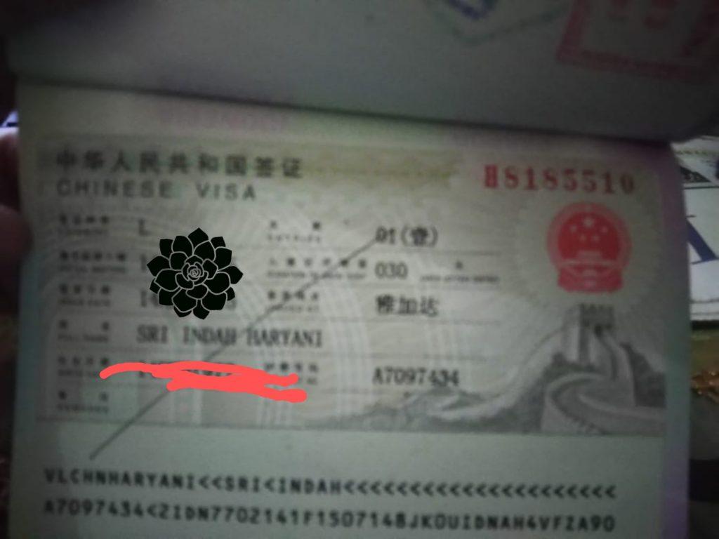 Transportasi menuju kantor Visa Center China Jakarta