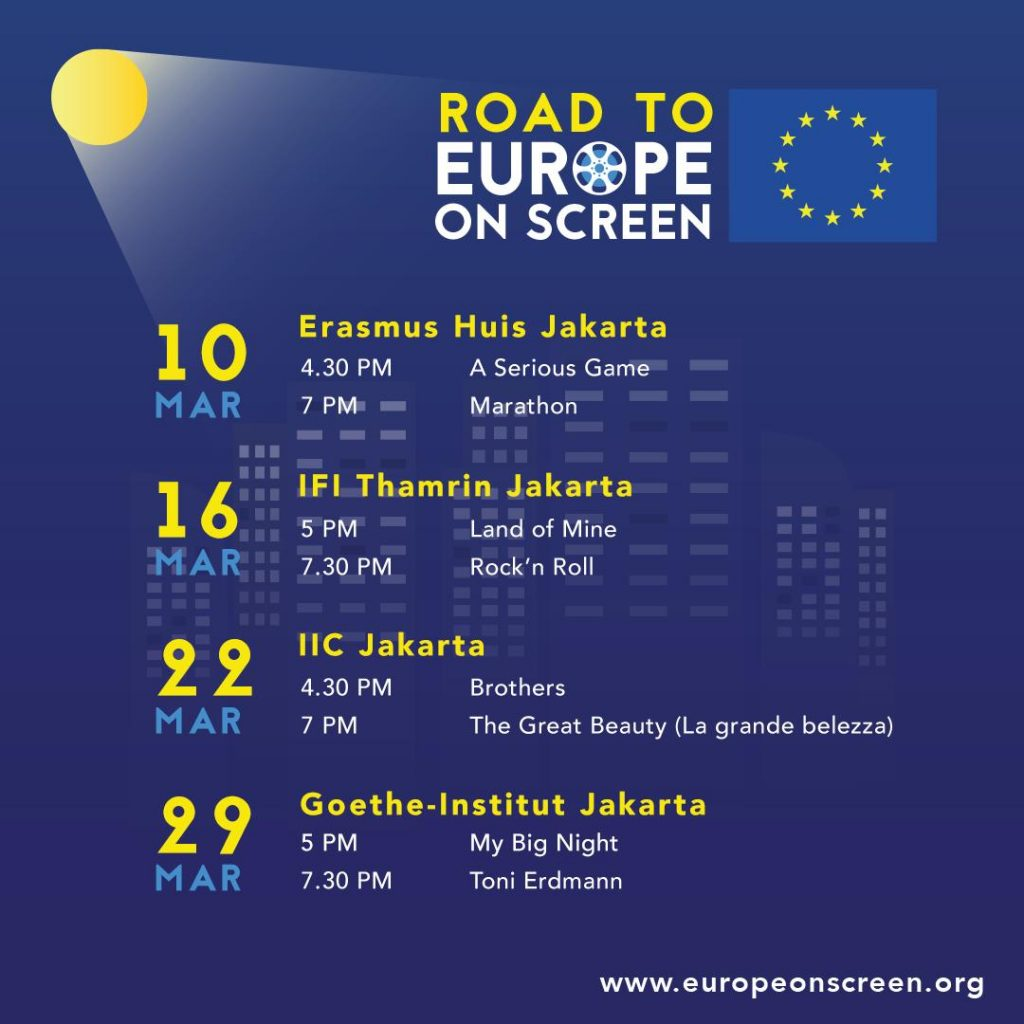 Nonton Film Gratis lagi yuuk dalam Road to Europe on Screen