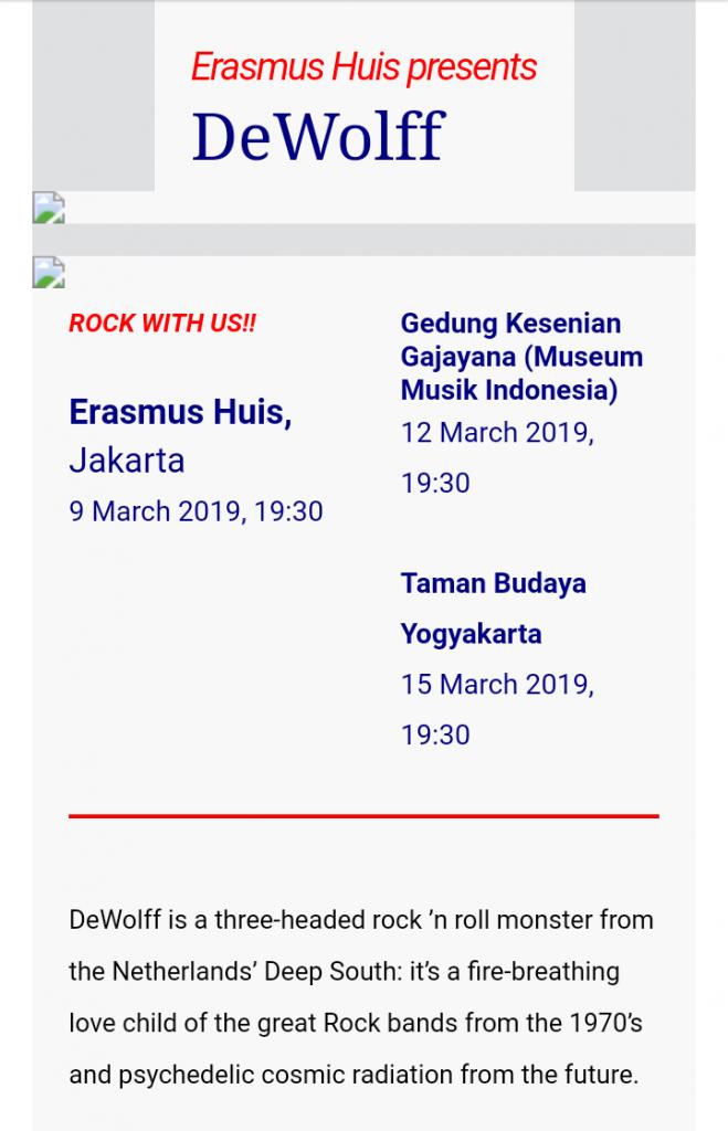 Nonton Pertunjukan musik dan seni gratis di Jakarta