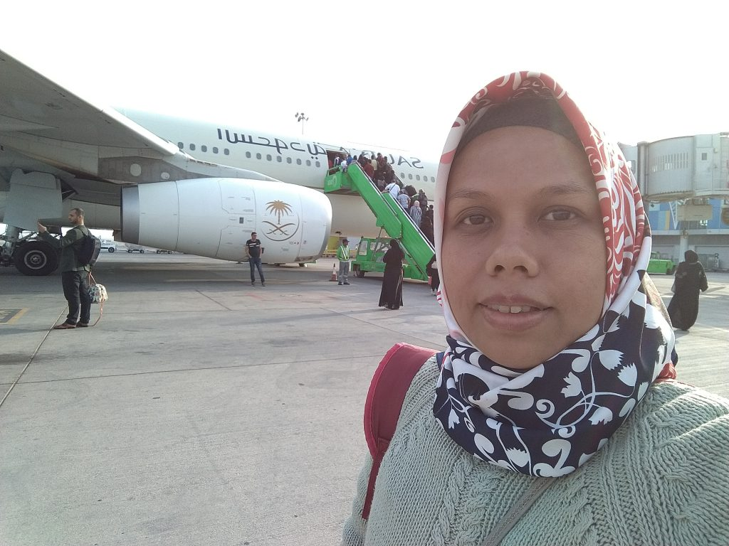 Kedua kali Terbang dengan Maskapai Saudia karena tiket promo