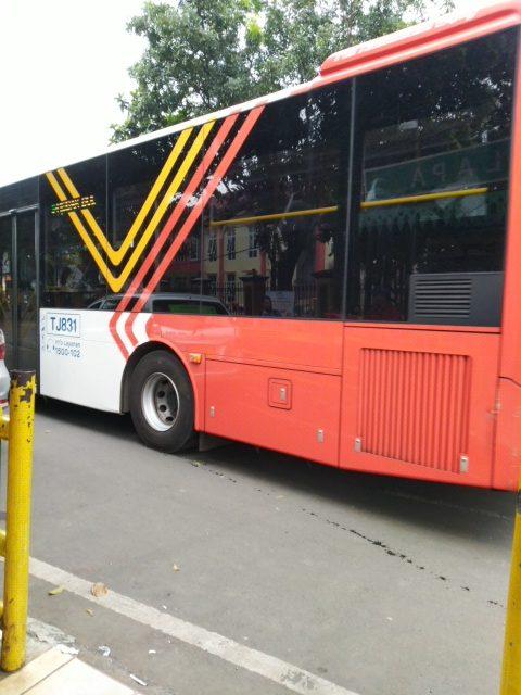 Perubahan Aturan Bus S41 Pondok Cabe - Tanah Abang