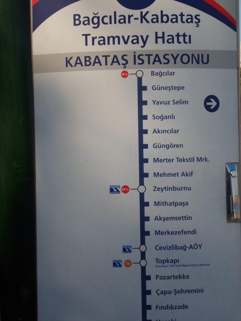 Pengalaman Naik Tram Pertama kali keliling Istanbul