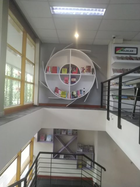 Perpustakaan nyaman yang bikin betah di Jakarta Selatan