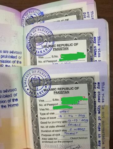 Syarat Mengurus Visa Pakistan Online dengan Mudah secara Mandiri