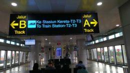 Pengalaman naik Skytrain Bandara Soekarno Hatta