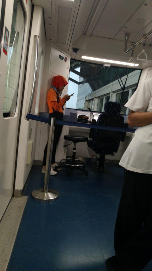 Skytrain Bandara Soekarno Hatta tanpa Pengemudi
