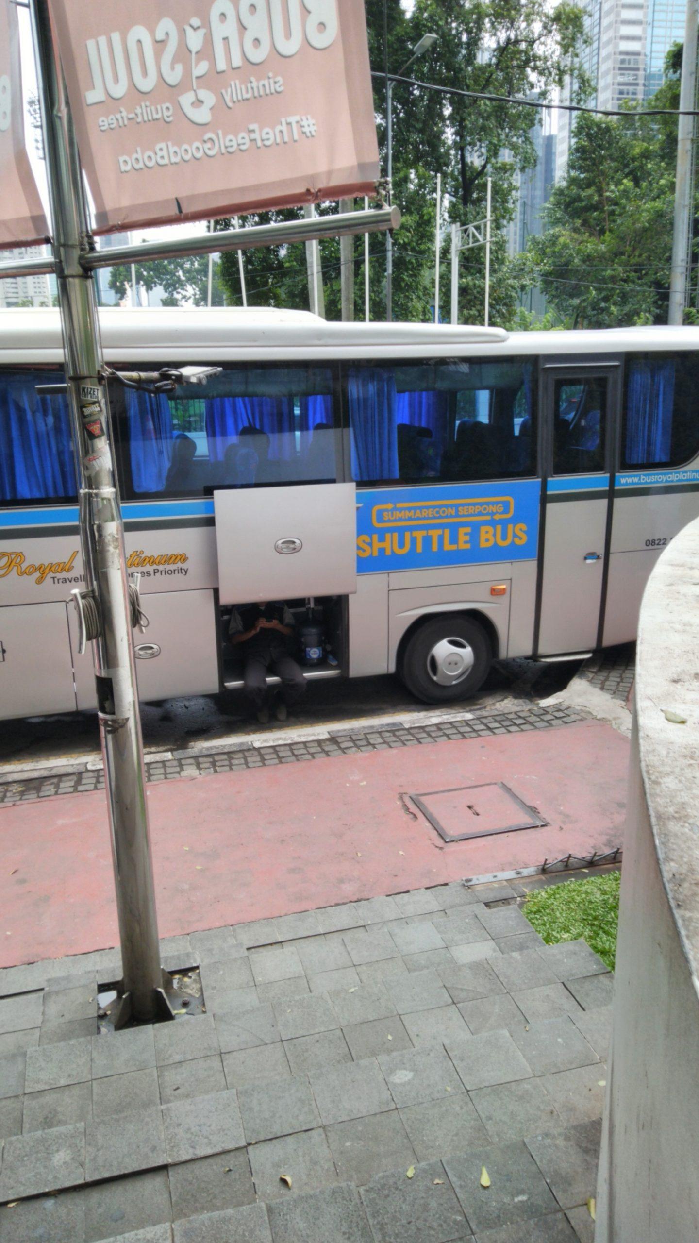 Jurusan Bus Summarecon Serpong ke FX Sudirman Jakarta