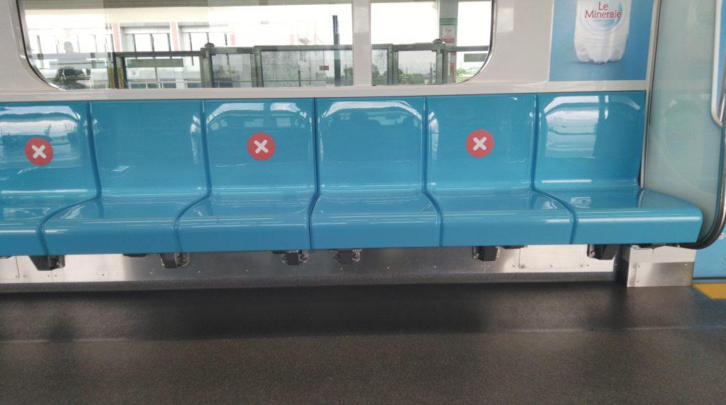 Social Distancing Covid19 pada Rute Busway dan MRT di Jakarta Saat Ini