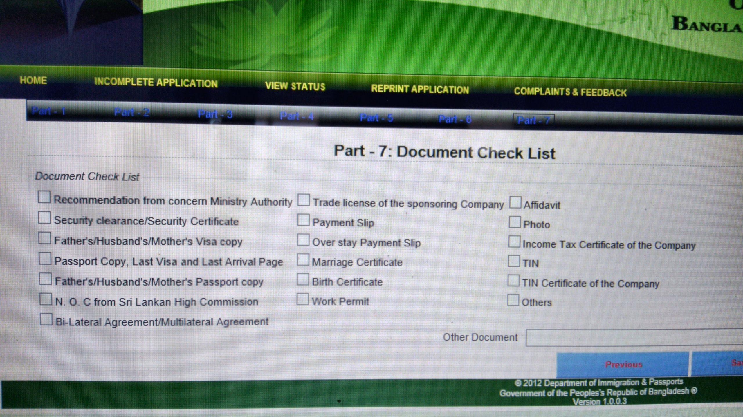 Cara Mengisi Formulir Visa Online Bangladesh dengan Mudah