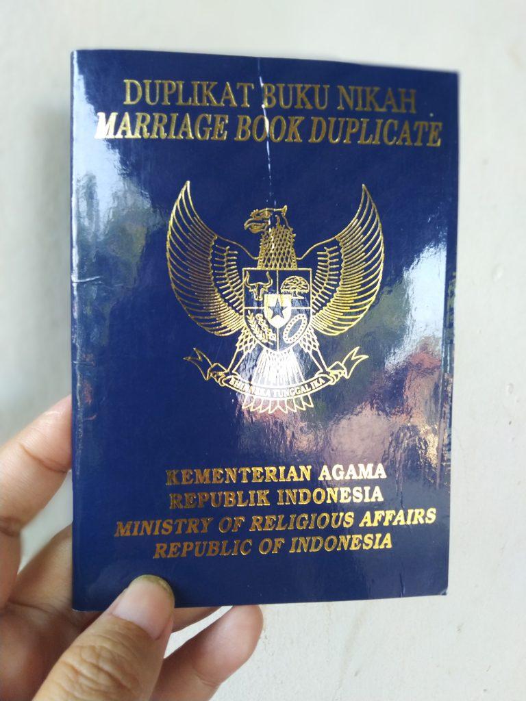 Bisakah Legalisir dengan Duplikat Buku Nikah di Kemenag ?