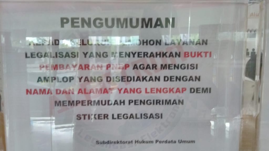 Pengalaman Legalisir Akta Kelahiran di Dua Kementrian Jakarta