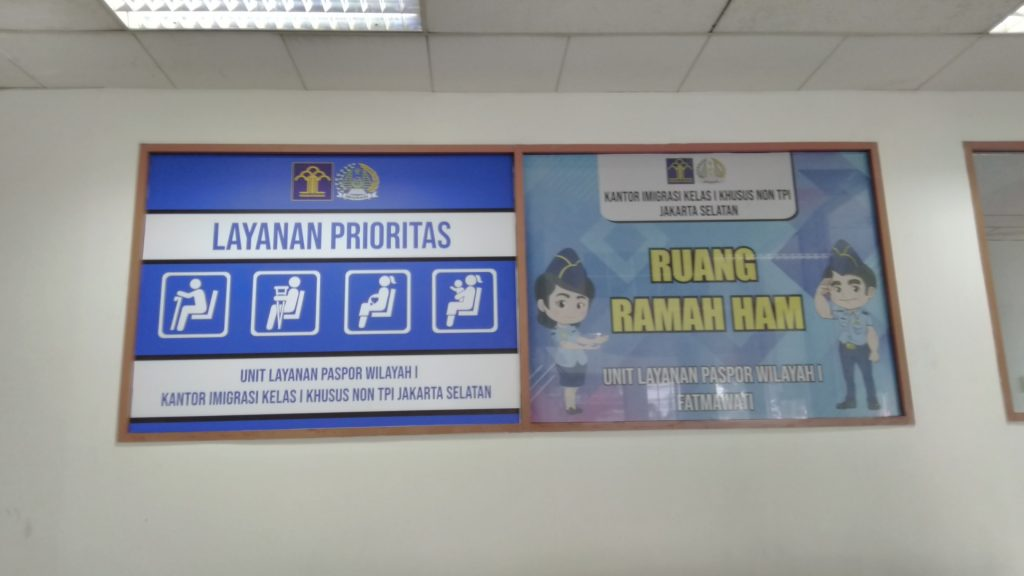 Pengalaman Buat Paspor Baru di Kantor Imigrasi Fatmawati