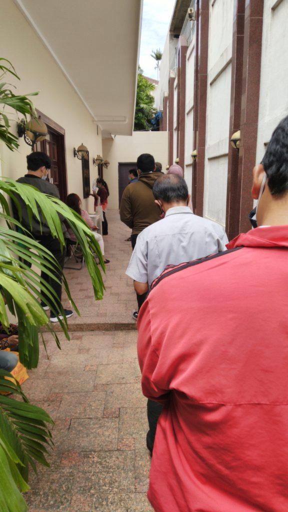 Antrian Panjang Mengurus Visa Mesir di Masa Pandemi