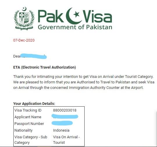 Membuat Visa Pakistan Online di Masa Transisi PSBB