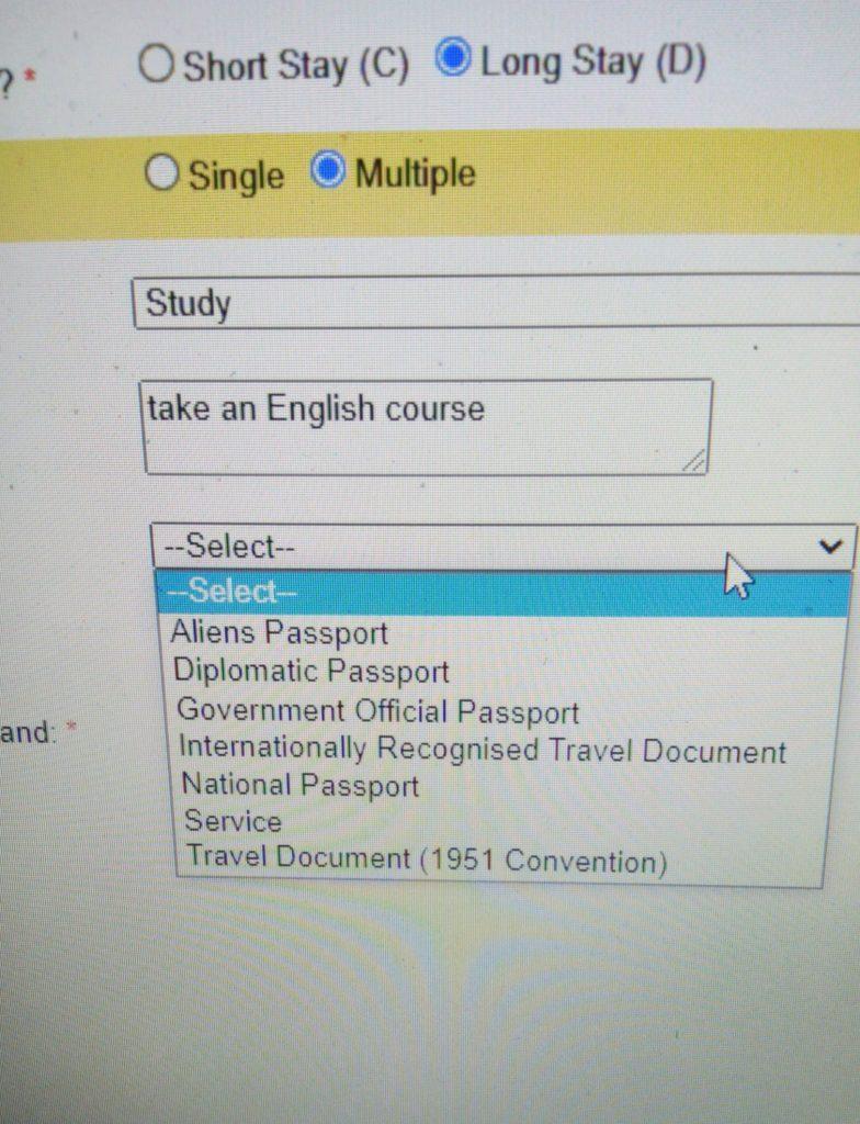 Pengalaman Mengisi Form Visa Study Irlandia Online