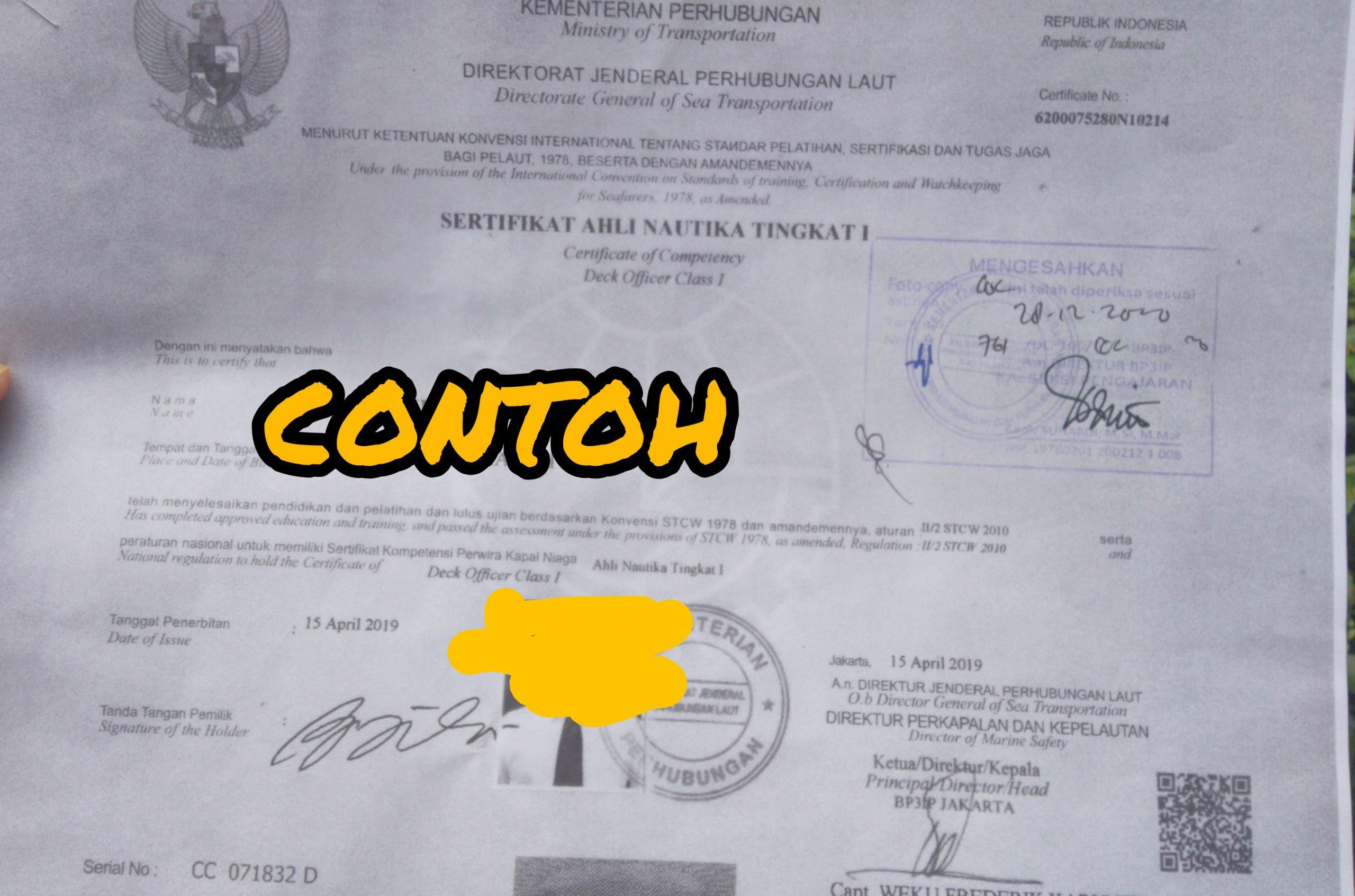 Dimana Legalisir Dokumen Pelaut Untuk Visa Pelaut di VFS Tasheel ?