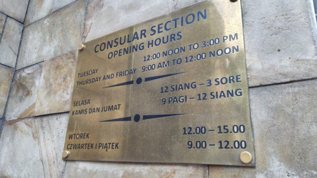 Pengalaman Mengajukan Visa Kerja Polandia di Jakarta