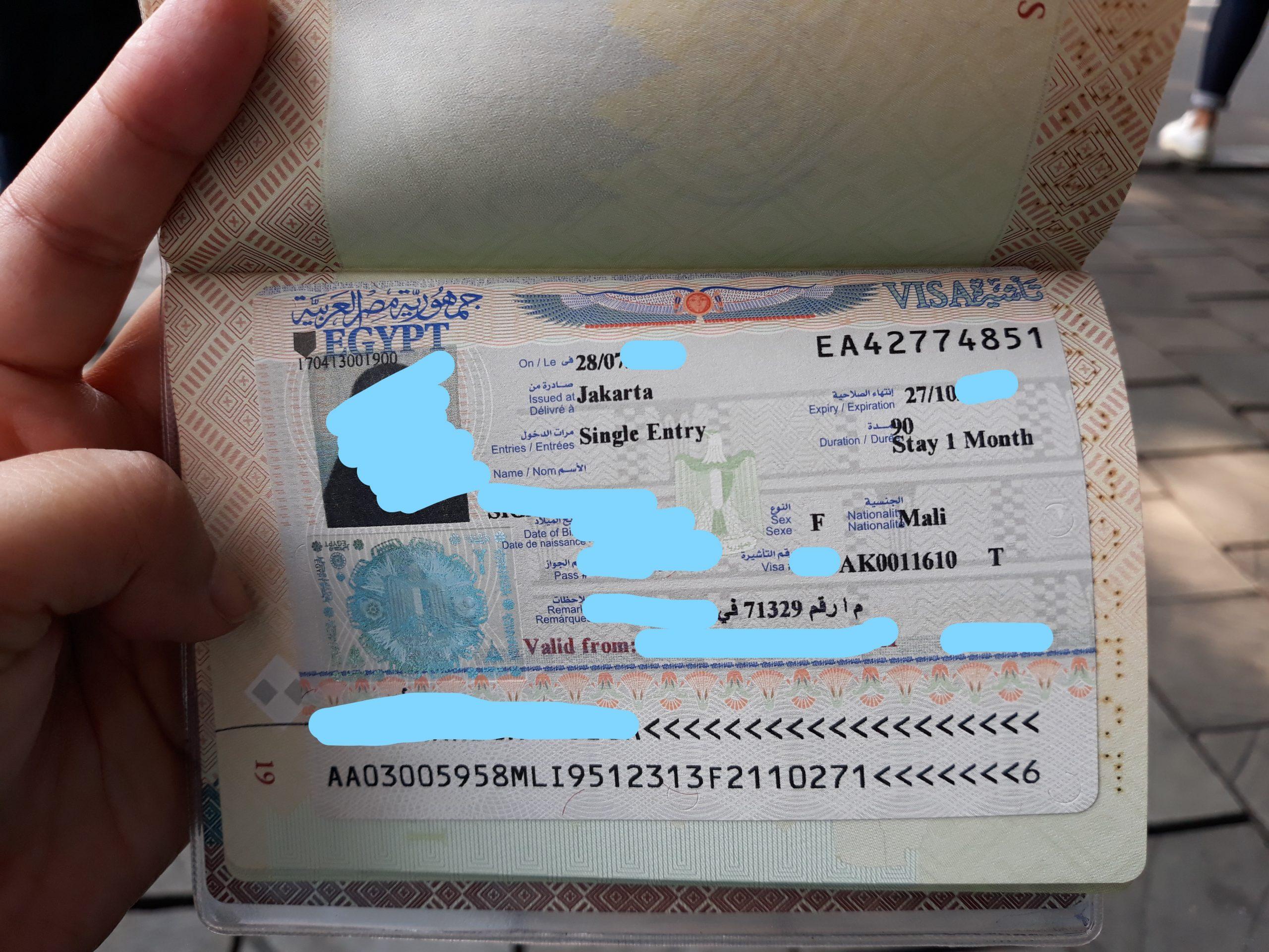 Pengalaman Mengurus Visa Mesir Bagi Pemegang KITAS di Indonesia